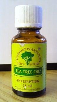 tea tree oil antifungal